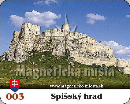 Magnetka - Spišský hrad