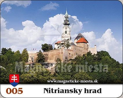 Magnetka - Nitriansky hrad