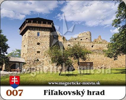 Magnetka - Fiľakovský hrad