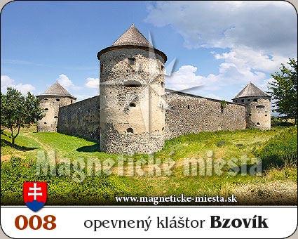 Magnetka - Opevnený kláštor Bzovík