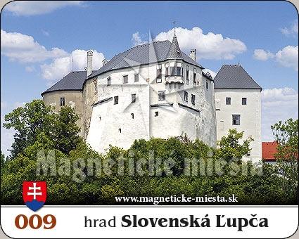 Magnetka - Hrad Slovenská Ľupča