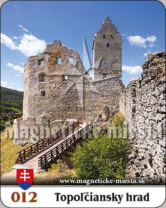 Magnetka - Topoľčiansky hrad