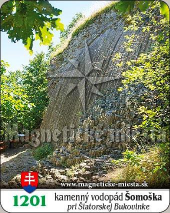 Magnetka - Kamenný vodopád Šomoška