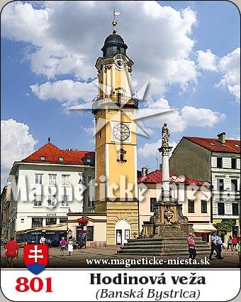 Magnetka - Hodinová veža Banská Bystrica