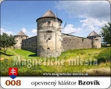Magnetky: Opevnený kláštor Bzovík