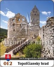 Magnetky: Topoľčiansky hrad